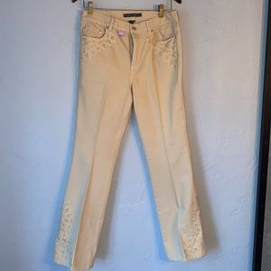 Lauren Jeans Co Embroidered Jeans